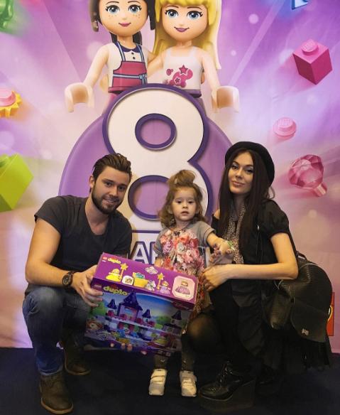 Терешина и Никитин воссоединились ради дочери