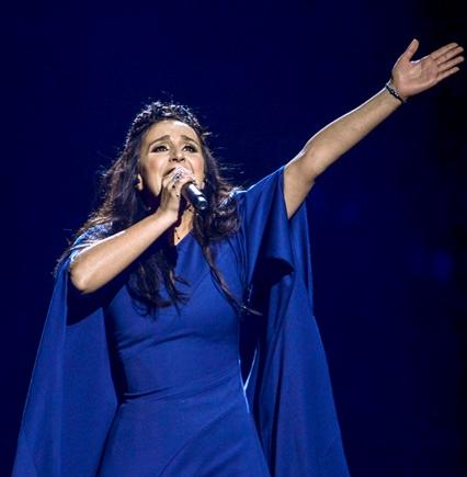 Джамала победила на «Евровидении 2016»