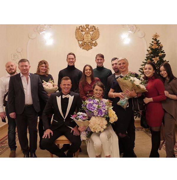 Дмитрий Тарасов и Анастасия Костенко поженились