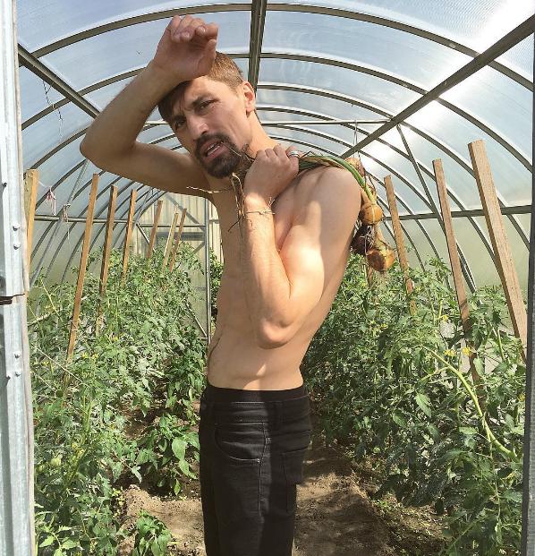 Дима Билан переквалифицировался в огородники