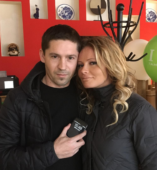 Дана Борисова помирилась с мужем