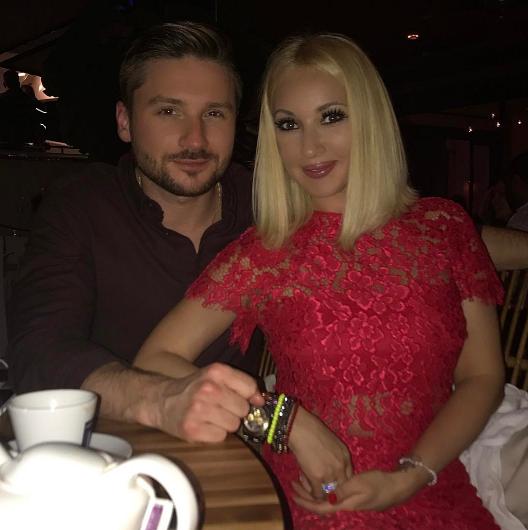 Лазарев и Кудрявцева встретили Новый год вместе