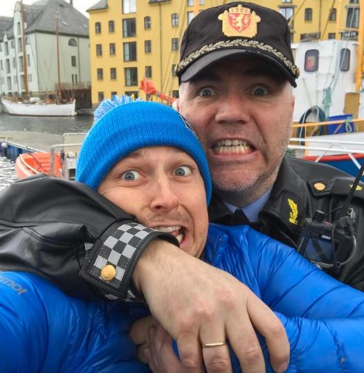 Полиция Норвегии задержала Александра Педана
