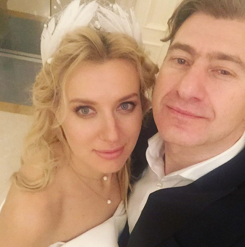 Певица Ольга Горбачева и Юрий Никитин поженились