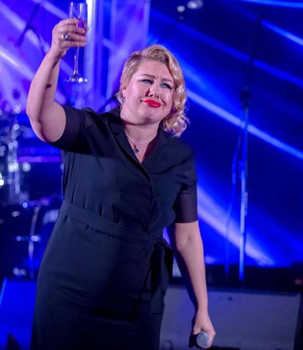 Ева Польна снова набрала вес