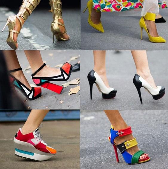 Модные обувные тенденции весна/лето 2017