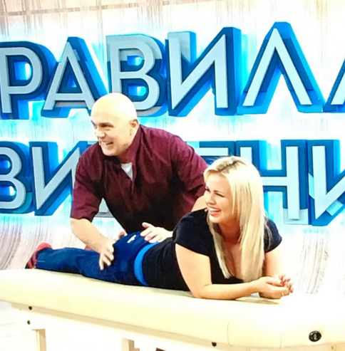 Анне Семенович публично сделали массаж пятой точки
