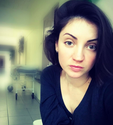 Ольга Цибульская попала в больницу