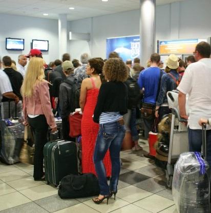 Регистрация и паспортный контроль при международном перелете