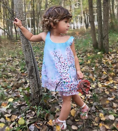 Дочь Тани Терешиной стала лицом детской моды