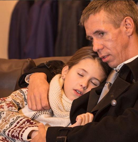 Алексей Панин отсудил у жены дочь