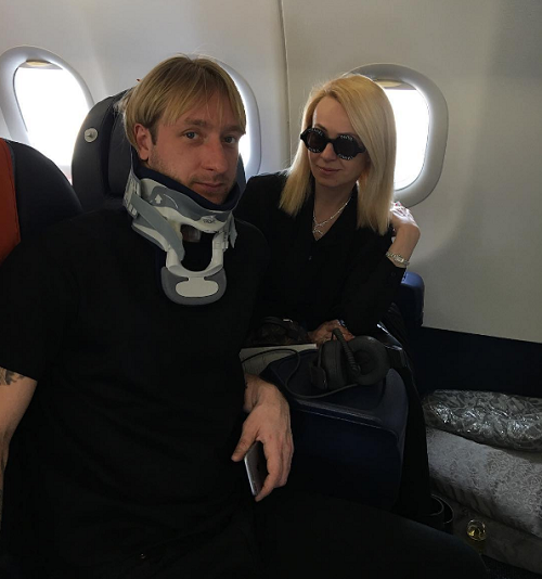 Плющенко выписался из израильской клиники