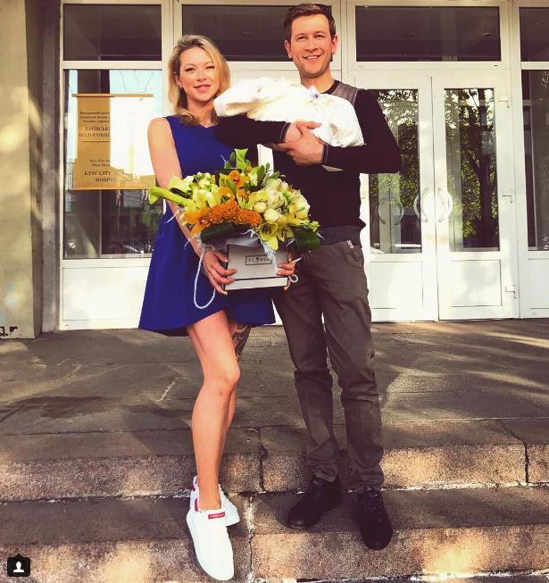 Появилось первое фото дочери Дмитрия Ступки