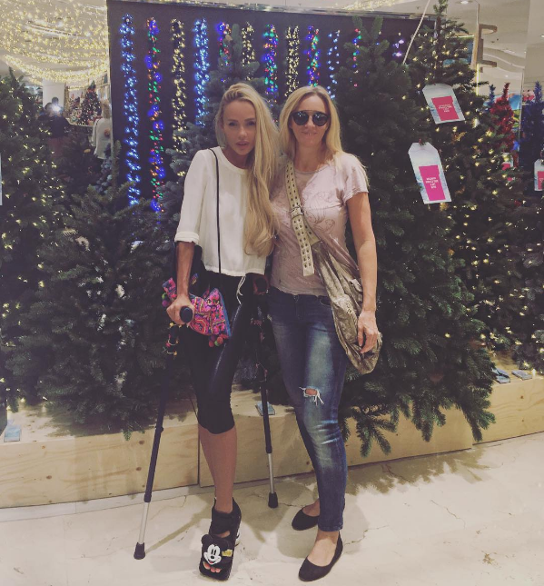 Кристина Сысоева повредила ногу