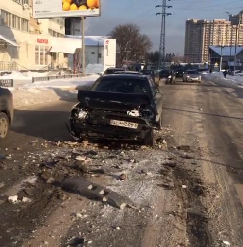 Виктория Боня попала в аварию