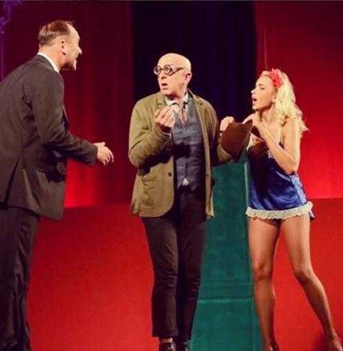 Лилия Ребрик показала роскошные ноги