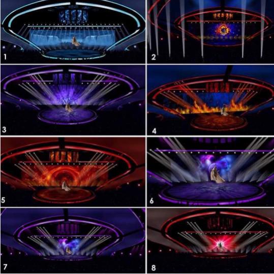 Как будет выглядеть сцена «Евровидение 2017» во время выступлений