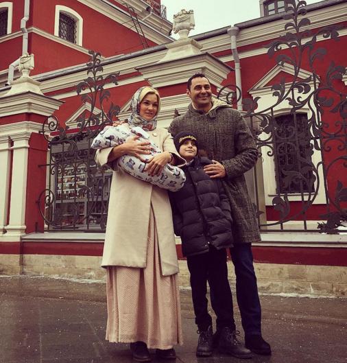 Стас Костюшкин окрестил сына