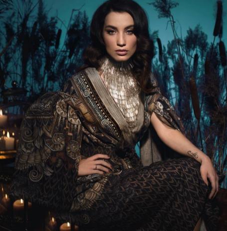 Виктория Дайнеко ищет няню при помощи астролога