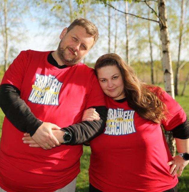 Марта и Андрей пришли на «Зважені» не за похудением