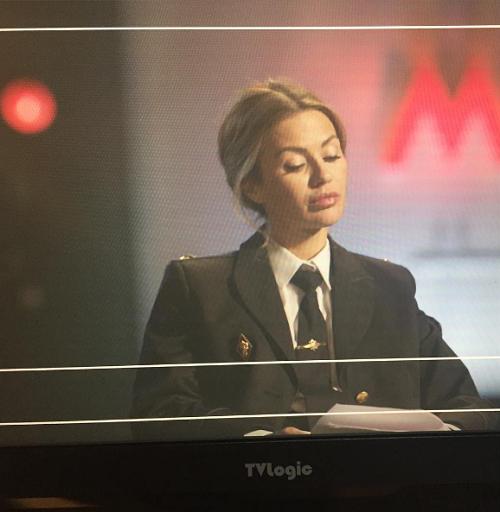 Виктория Боня снимается в кино