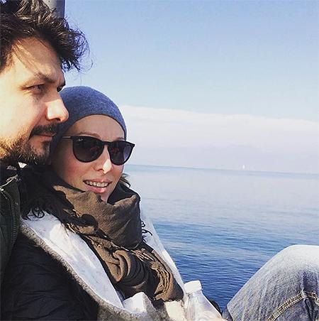 Ольга Ломоносова родила сына