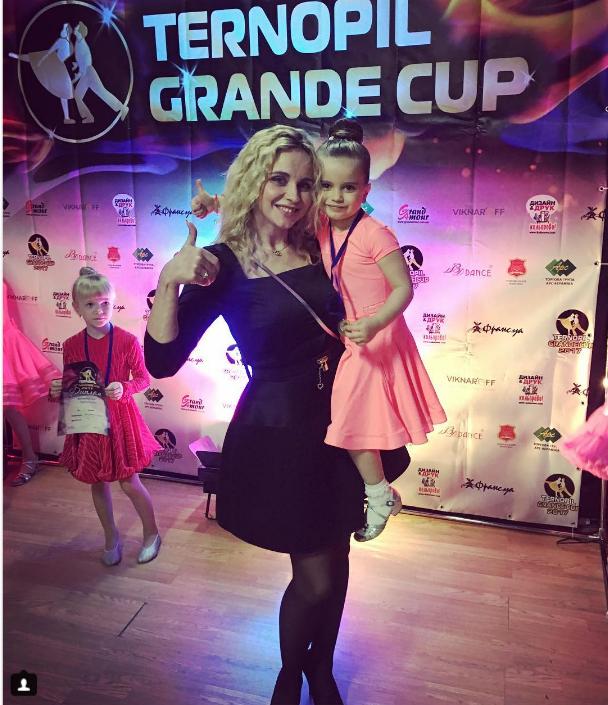 Дочь Лилии Ребрик стала чемпионкой