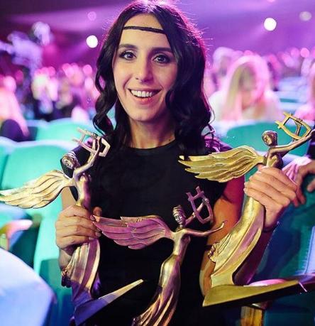 Джамала получила сразу 3 награды на YUNA